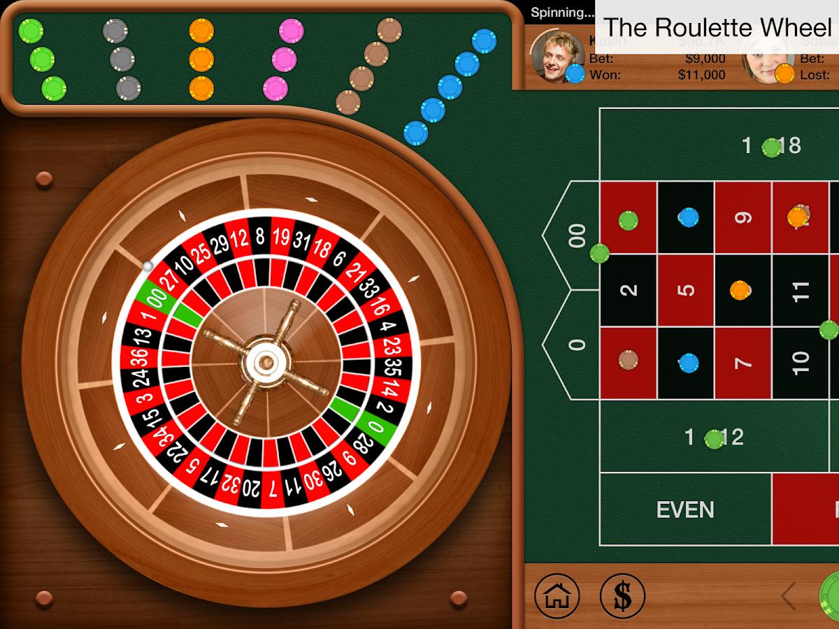 Roulette double street