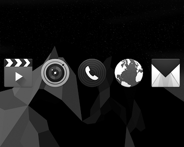 BLACK. Icon Pack v1.1