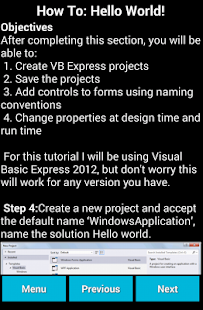 Learn Visual Basic - screenshot thumbnail