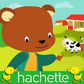 Lil'Bear on the farm