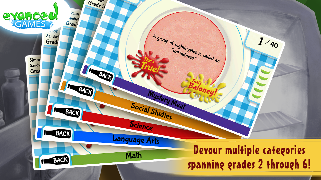 That's Baloney! Kids Quiz Game- screenshot