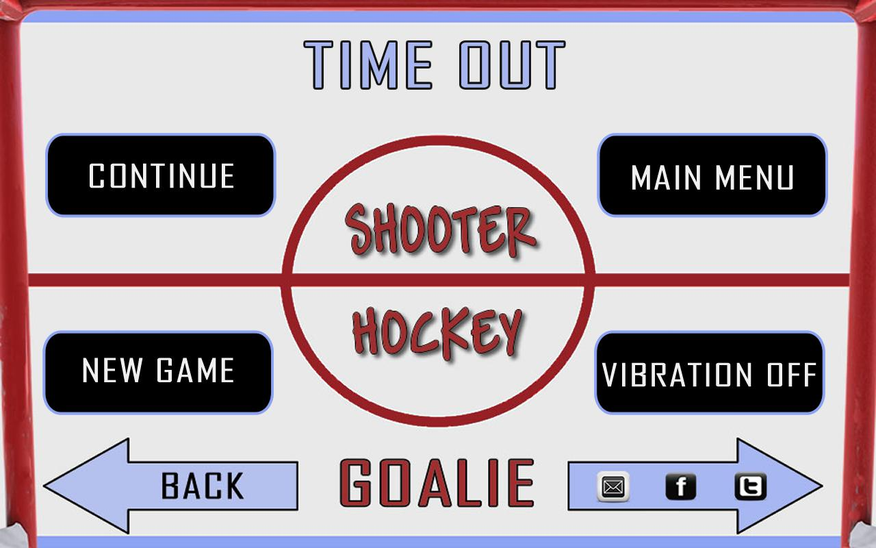 Shooter Hockey - screenshot