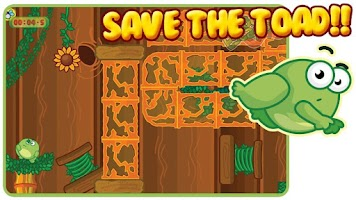 Screenshot of Toad Escape Free Platform Game