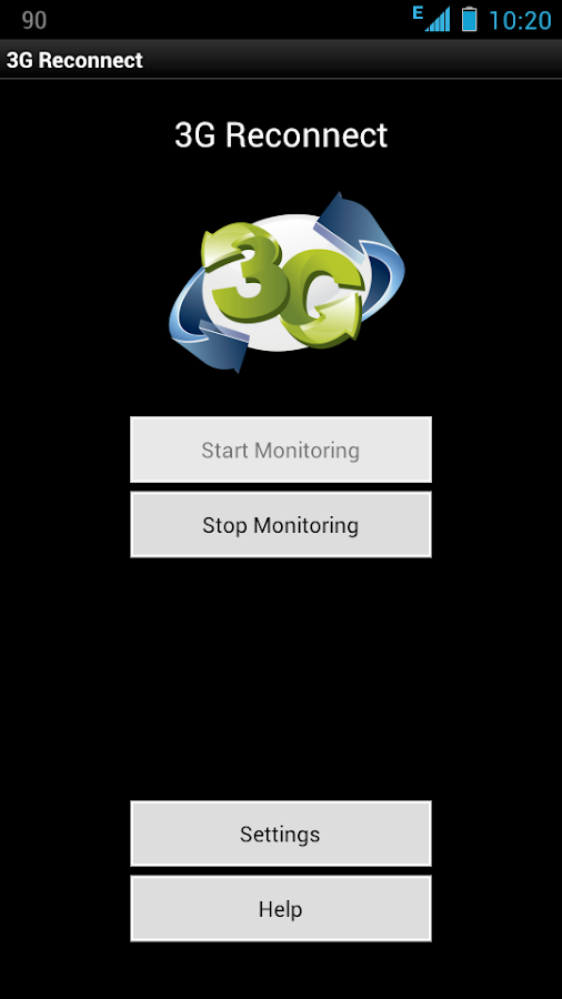 3G Reconnect - screenshot
