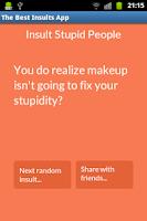 Screenshot of Best Insults - Funny Comebacks