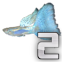 Grow the guppy 2 icon