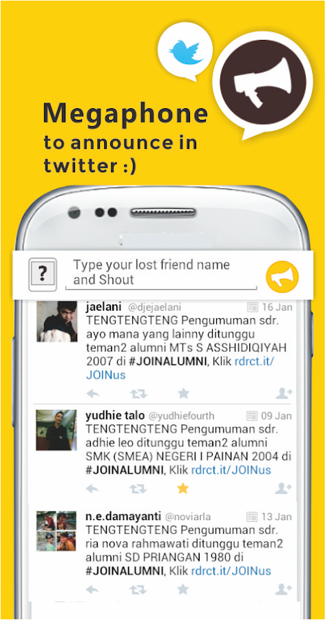 JOIN Alumni Find School Friend - screenshot