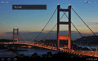 Screenshot of TsingMa Bridge Wallpaper Free