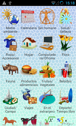 PixWord English for Spanish