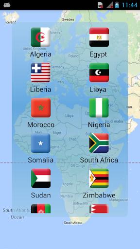 ワールドワイドクロックマップ