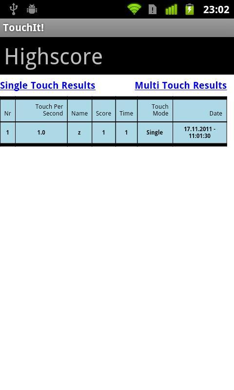 TouchIt!- screenshot