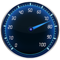 Speedometer battery widget icon