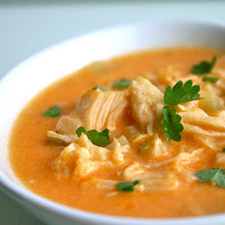 PALEO BUFFALO CHICKEN SOUP.
