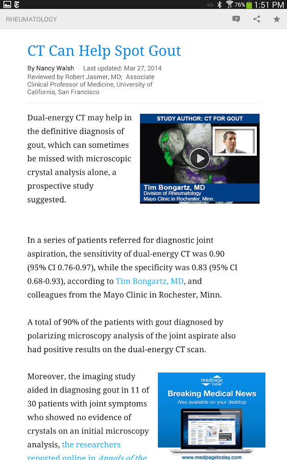 MedPage Today- screenshot