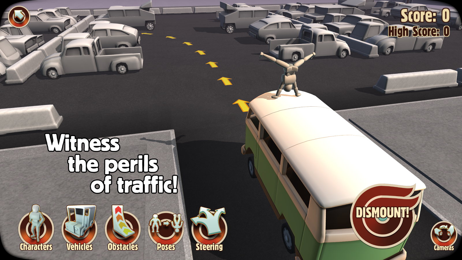 Turbo Dismount™- screenshot