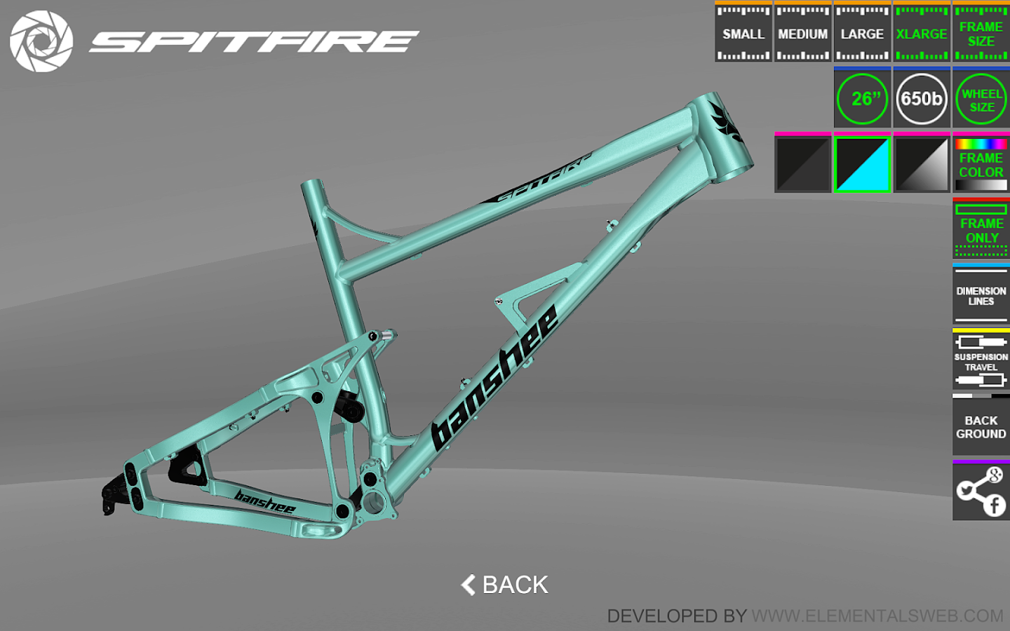 Banshee Bikes Virtual 3D- screenshot
