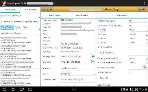 【免費商業App】Boyut Ziyaret Takibi-APP點子