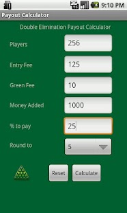 Tournament Payout Calculator- screenshot thumbnail