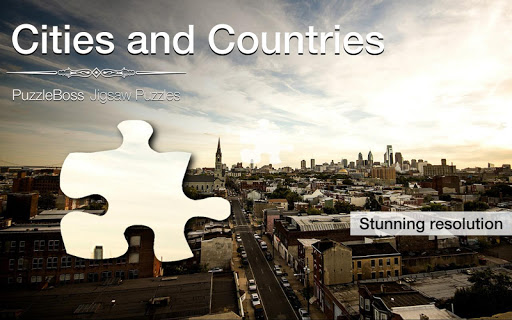 Cities Countries Jigsaws