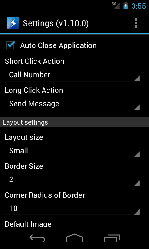 Speed Dial Lite- screenshot
