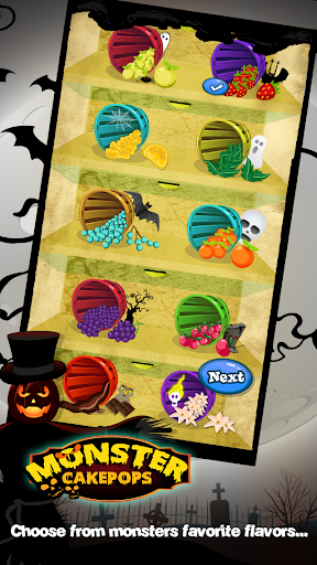 【免費休閒App】Monster Cake Pop Halloween-APP點子