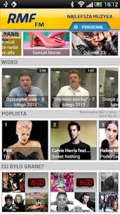 RMF FM - screenshot thumbnail