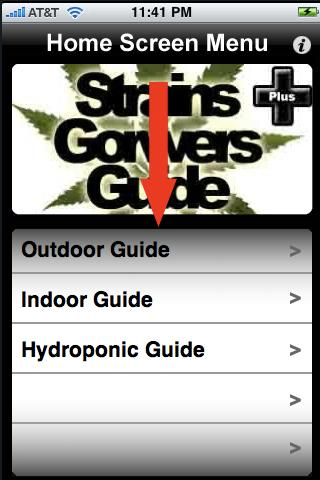 Strains Growers Guide Plus - screenshot