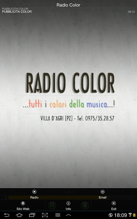Radio Color - screenshot