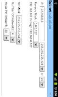 Screenshot of Simple Subnet Calculator