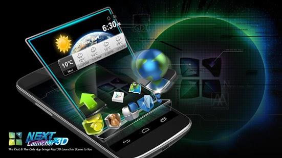 Next Launcher 3D - screenshot thumbnail