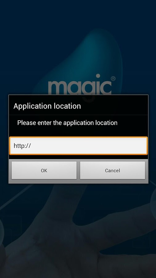 Magic xpa Client- screenshot