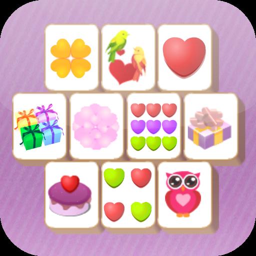 Valentine's Mahjong Tiles