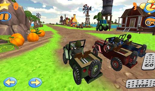 Wild race cars 2 Jeep 4x4