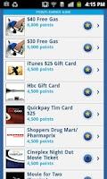 Screenshot of Esso Extra App