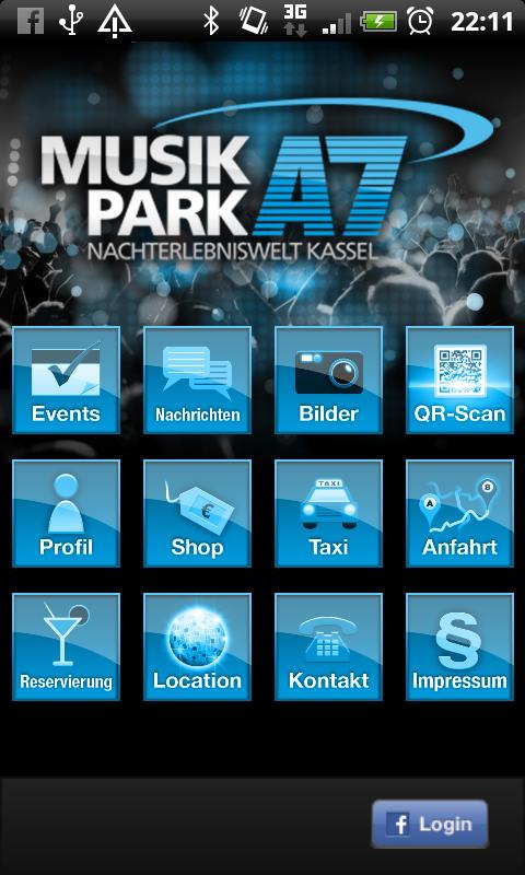 Musikpark A7 Kassel- screenshot