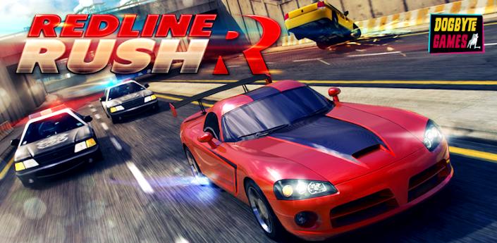 Redline Rush v1.2.1 [куча бабла] (apk+кэш) Android