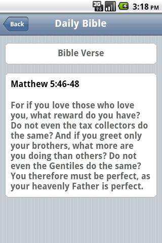 Free Daily Bible - screenshot