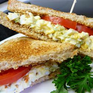Creamy Egg Salad Sandwiches Recipe