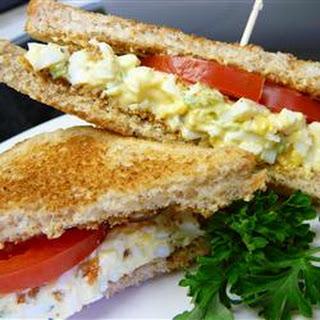 Creamy Egg Salad Sandwiches