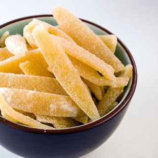 Candied Lemon Peel Recipe