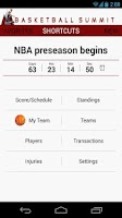 Screenshot of Basketball Summit: NBA news