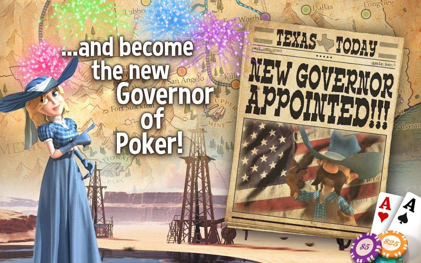 texas holdem poker governor