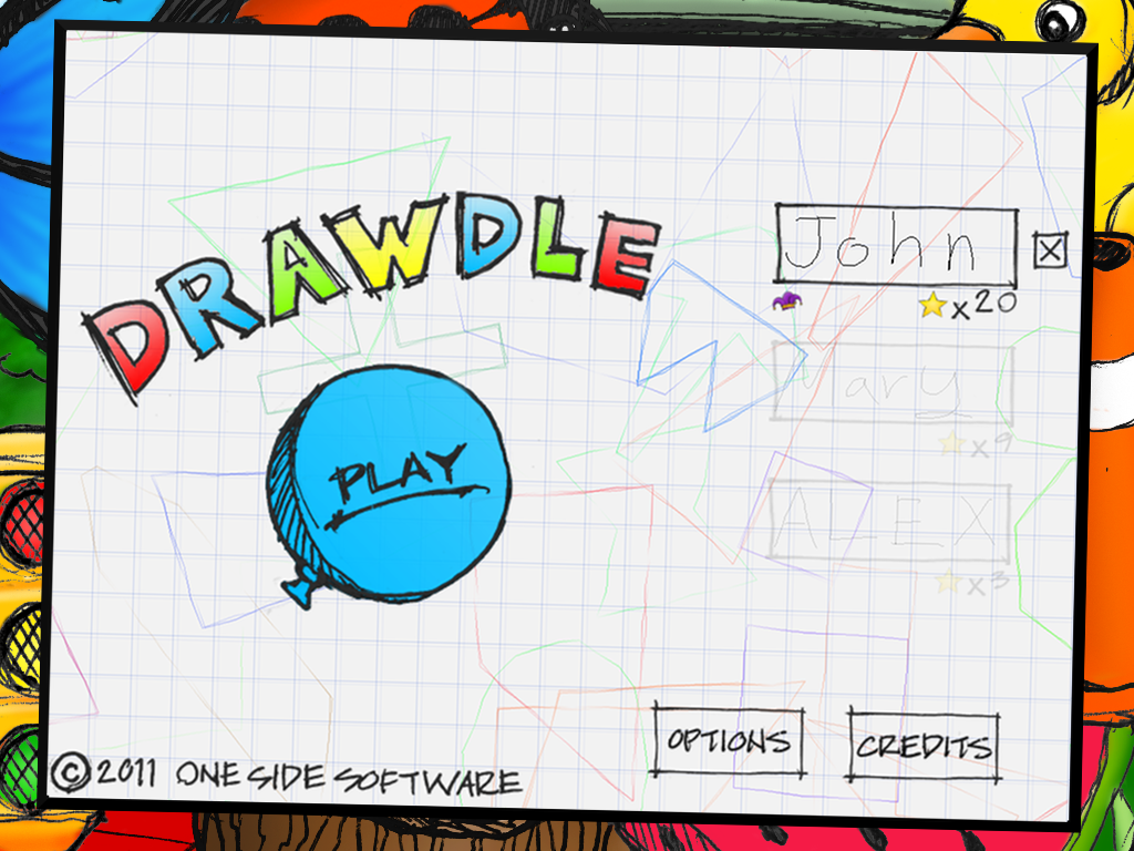 Drawdle Lite- screenshot