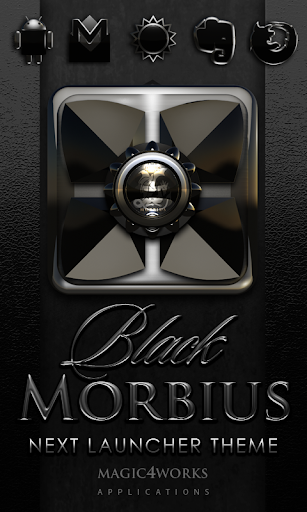 Next Launcher Theme Morbius