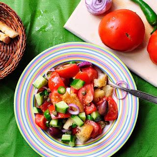 Panzanella - Italian bread salad