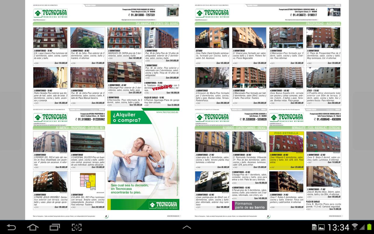 Revistas Grupo Tecnocasa- screenshot