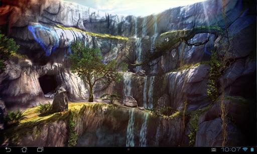 玩個人化App|3D Waterfall Pro lwp免費|APP試玩