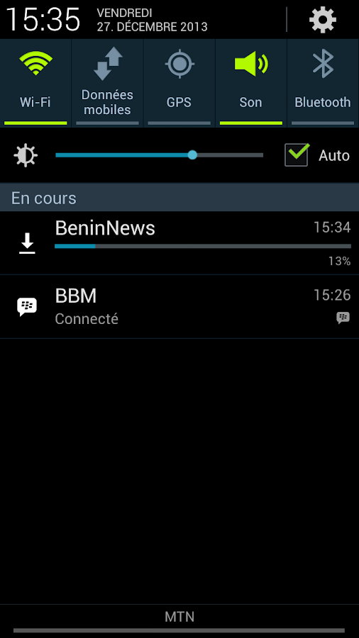 BeninNews- screenshot