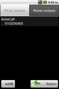 IPCall : Cheapest way to call - screenshot thumbnail
