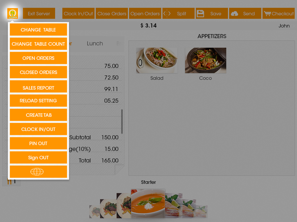 Feast POS - screenshot